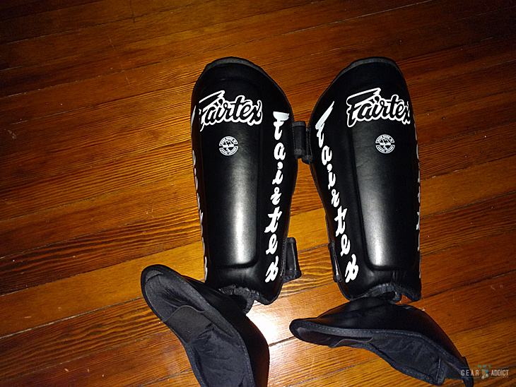 Fairtex Twister shin guards Review