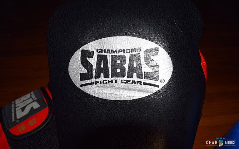 Sabas Pro Series boxing gloves logo