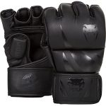Venum Challenger MMA Gloves, Black/Black, Medium