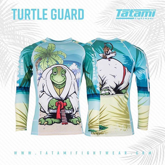 Tatami Turtle Guard Rash Guard