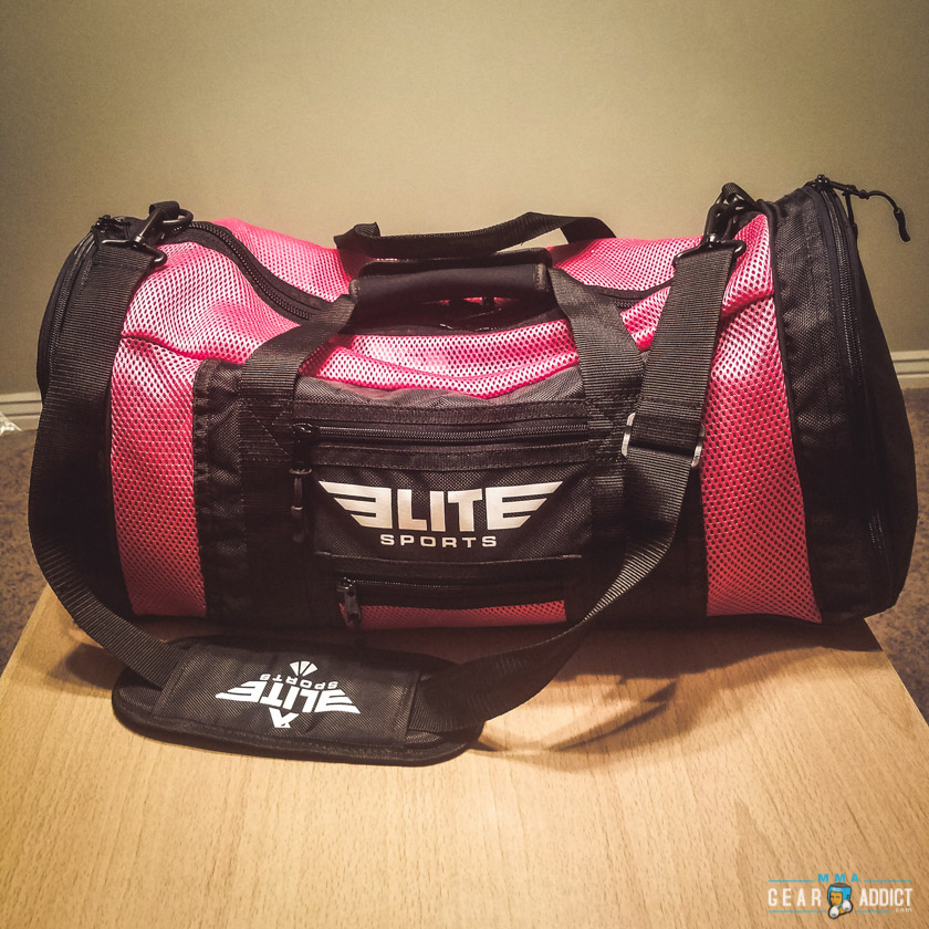 Elite Sports Pink Mesh Gym Bag   Backpack Review - MMA Gear Addict