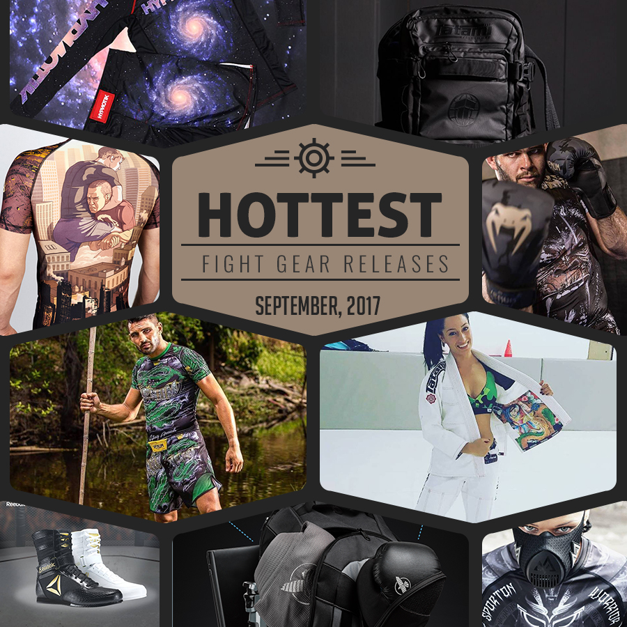 Hottest Fight Gear Rleases for September