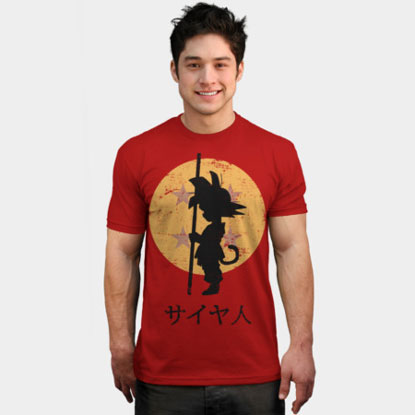 Martial Arts Anime Fan Shirt 'Dragon Ball'