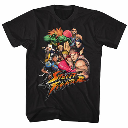Vintage Street Fighter T-Shirt
