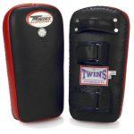 Twins Special Muay Thai Pad w/ Velcro (Black Red) (XL)
