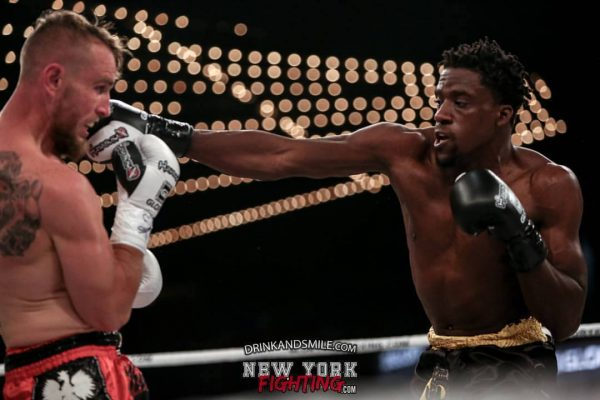 Brima Kamara's Glory Kickboxing Debut at Madison Square Garden