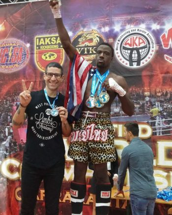 Brima Kamara conquers the Unified World Championships in Italy, winning Gold in the K1, MuayThai, and Low Kick-Kickboxing brackets