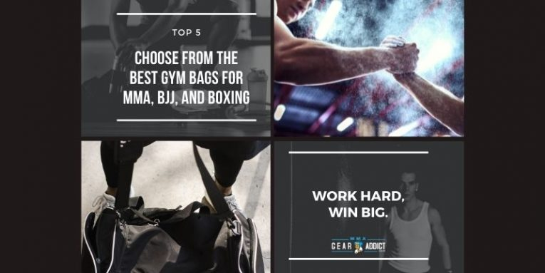 Best Gym Bags for MMA BJJ and Boxing