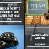 These are the Mats You Need for Your Martial Arts Home Gym