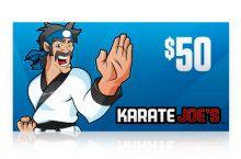 Karate Joe's $50 E-Gift Card
