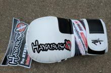 WIN Hayabusa Tokusha 7oz Hybrid MMA Gloves! – Ended