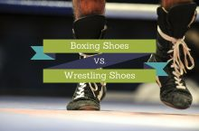 Boxing Shoes vs Wrestling Shoes