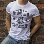 I'm Boxing Dad T-shirt