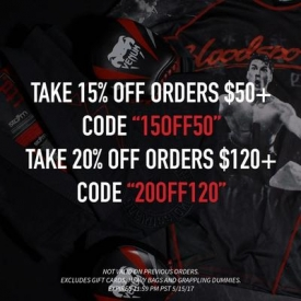 MMAWarehouse Coupon Code: 20% OFF Orders $120+