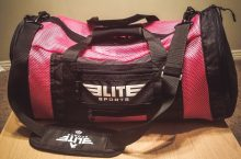 Elite Sports Pink Mesh Boxing Gear Gym Bag & Backpack Review