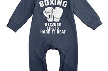 Toddler Boxing Romper Jumpsuit