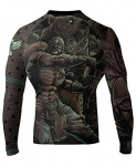 Raven Fightwear Berserker Rash Guard