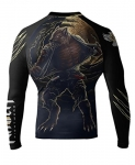 Raven Fightwear Horror Werewolf Rash Guard