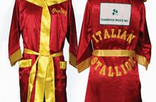Rocky Balbo RED Movie Italian Stallion Boxing Robe
