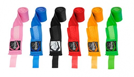 Sanabul Elastic Professional 180 inch Handwraps Overview