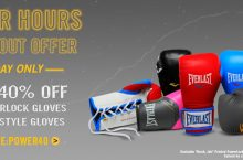 Everlast Coupon: 40% off of gloves