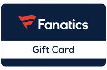 Fanatics Gift Card $10-$250